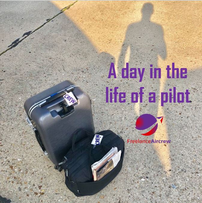 day in the life of a freelance pilot