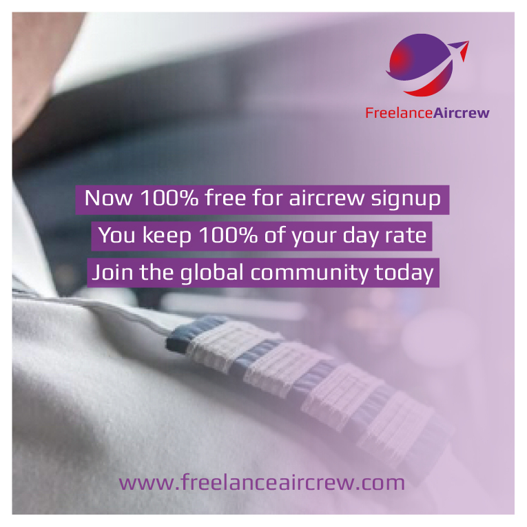 Freelance Aircrew is now FREE