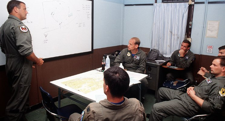Debriefing Freelance Aircrew